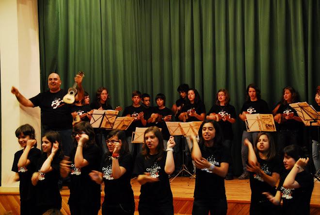 Grupo de Cavaquinhos do CAIC em SALAMANCA