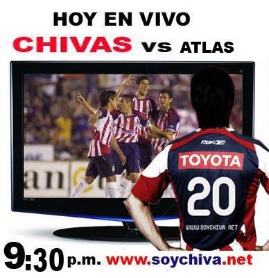 HOY EN VIVO CHIVAS vs ATLAS