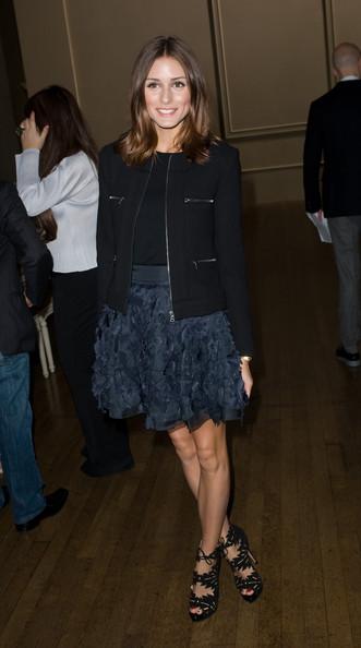 fashion spot olivia palermo 2011. Olivia at the Julien Macdonald