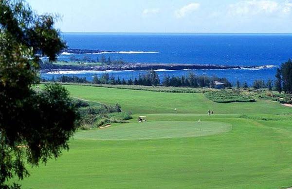 El mar y el golf
