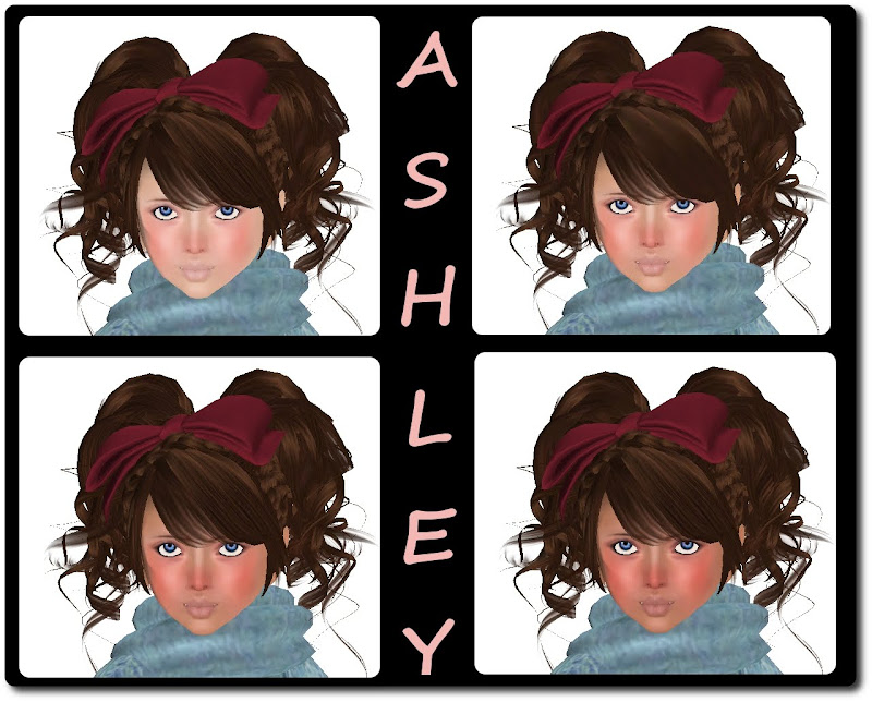 Ashley is the latest kids skin from CandyDoll it comes in 4 tones