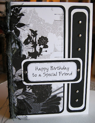 I created another one-of-a-kind Birthday Card design, this time without the