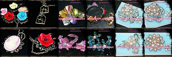 PRECIOUS CRAFT- MENJUAL PEARL AND CRYSTAL BROOCH DARI SABAH!