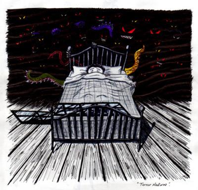 Sonambulismo, Terrores Nocturnos y Pesadillas