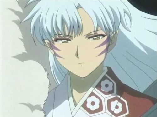 kagome and sesshomaru kiss