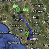 Compass Map Civita Di Bagnoregio Ů�崎骏的天空之城 Viterbo Italy