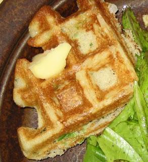 Savory Cornmeal Waffle