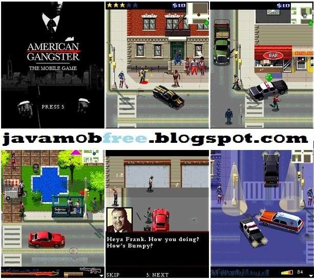 American gangster (русская версия) - mobile java games