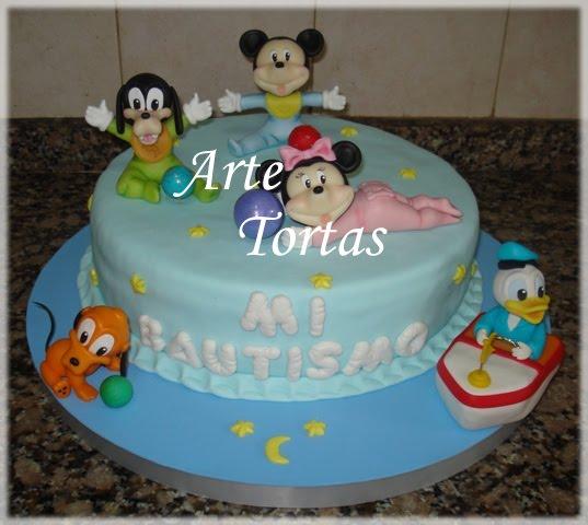 Pasteles de Mickey Mouse bebé - Imagui