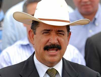 Ousted President Zelaya