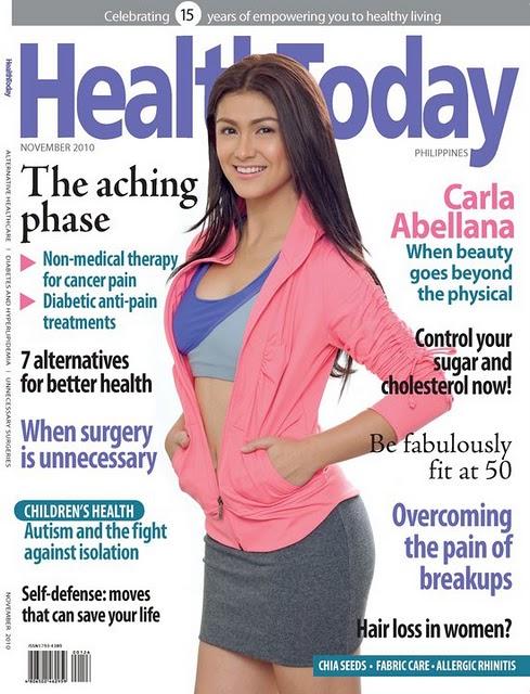 Carla Abellana - Health Today Magazine(November 2010)