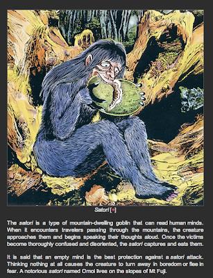 Crutchtology: Japanese Folk Monsters (1980s)