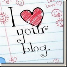 Blog Award: I Love Your Blog Award