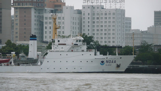 NOAA Ship Resupplies