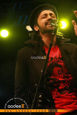 Atif Aslam at Salam Dubai 2011