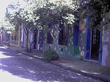 Fachadas coloridas de la Calle Lanin