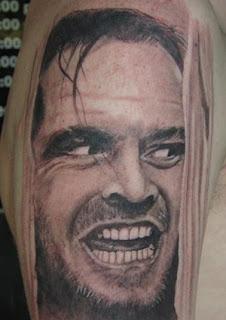 Tatuagens Inspiradas em Filmes de Terror