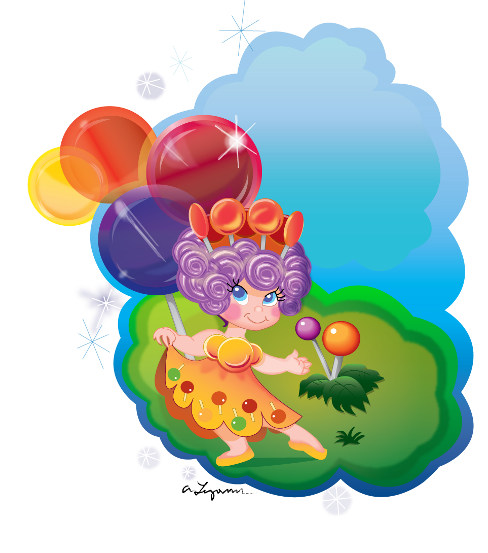 Candyland characters printables candyland princess lolly by djlaza