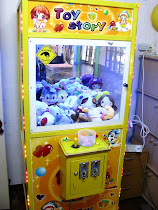 Yes, we got our own claw machine :) It's for sale too!