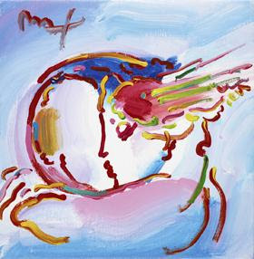 I Love the World Ver. XIV #18. Peter Max.