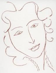 Henri Matisse. Female Portrait (1949).