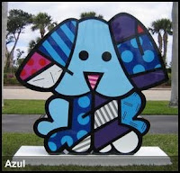 Romero Britto Artwork