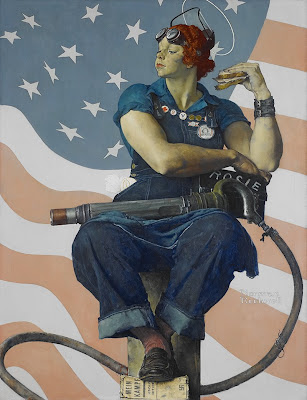 Rosie the Riveter, Norman Rockwell
