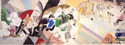 Introduction to the Jewish Theater, Marc Chagall