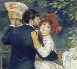 Dance in the Country (1883) by Pierre-Auguste Renoir