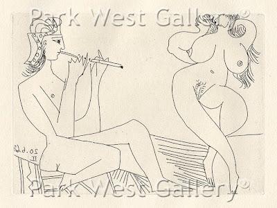 Pablo Picasso. La Celestine Acte XV. 1968.