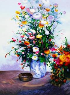 Bouquet in Blue. 2004. Alex Perez.