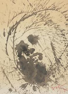 Ecce homo (Behold the man). Biblia Sacra image. Salvador Dali.
