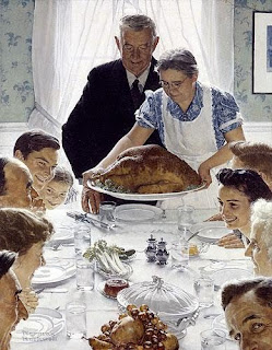 Norman Rockwell. Freedom From Want. 1943. ©Curtis Publishing Company.