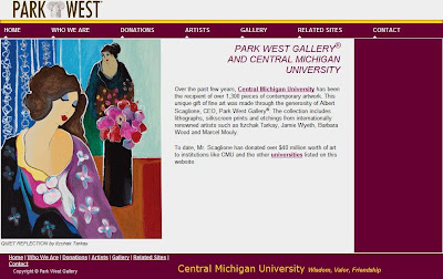 Park West Gallery, Central Michigan University