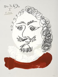 Pablo Picasso(after). Imaginary Portrait.