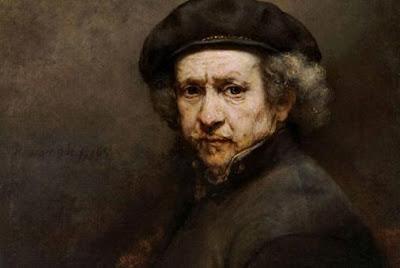 Rembrandt van Rijn. Self Portrait, 1659.