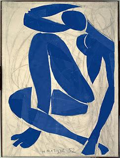 Henri Matisse. Nu bleu IV, 1952. © succession H. Matisse - Photo : Ville de Nice - Service Photographique