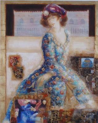 Peter Nixon. Venetian Colour – Vermilion (2009). Park West Gallery.
