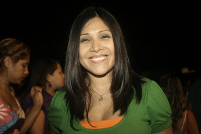 Tula Rodríguez cachetona