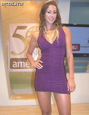 Melissa Loza posee bella figura