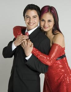 Norka Ramírez junto a Nahun Osorio