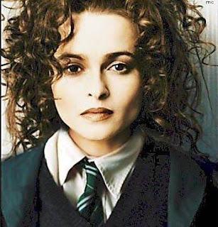 Helena Bonham Carter con rizos