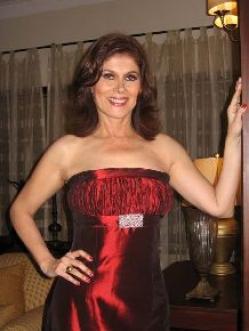 Olga Zumarán sonriendo como siempre