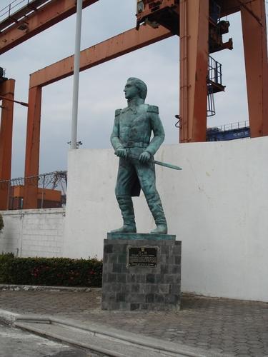 Estatua de Pedro Sainz de Baranda y Borreiro