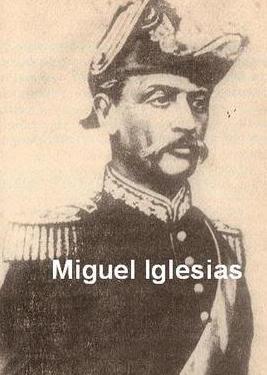 Miguel Iglesias de militar