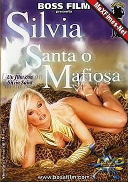 Capa+MaXFilmes Silvia Saint – Silvia Santa o Mafiosa