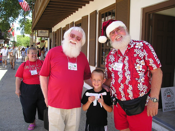 Santa Vacations in Florida!