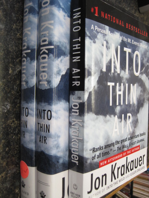 an overview and the expedition of the novel into thin air by jon kraukuer Jon krakauer - into thin air, by jon krakauer my account we play together as a team on the court in this way, my basketball team can relate to the expedition team of jon krakauer, the author of into thin air [tags essay on analysis of the book into thin air.