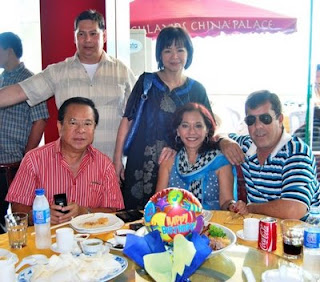 In Back- Ramon and my first cousin, Natie Tioseco Eleazar, Front, Chavit, me and hubby Dave Dewbre