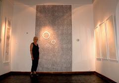 instalación en la galeria ATICA